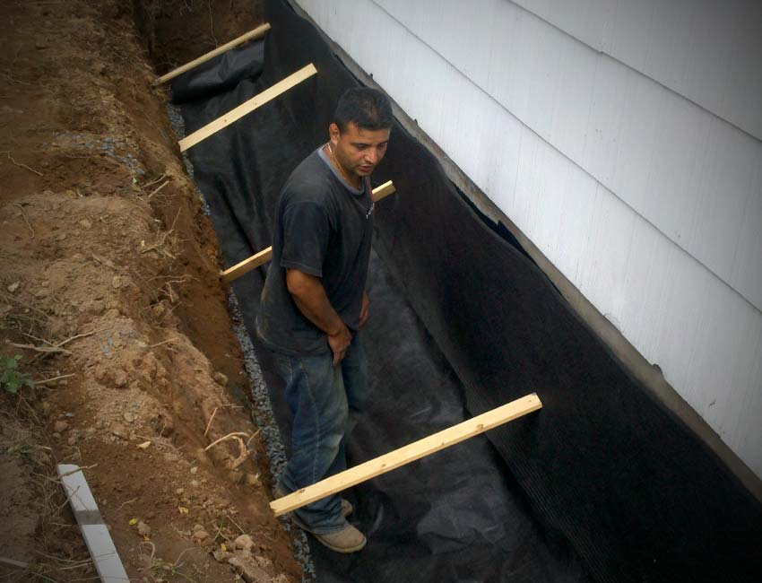 Foundation Waterproofing/Drainage Rockland County NY